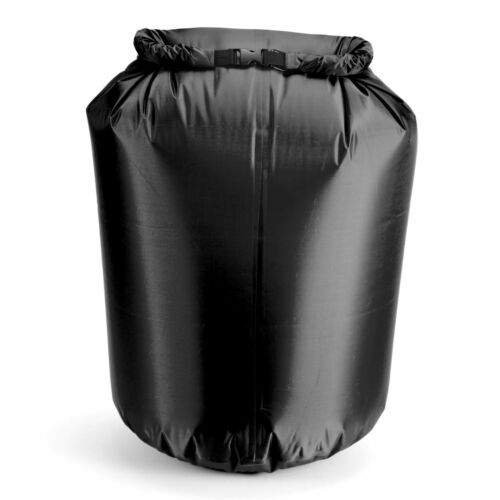 BLACK 80L DRY SACK WATERPROOF BAG FOLD BAG CANOE KAYAK SWIM SAIL RAFT BOAT