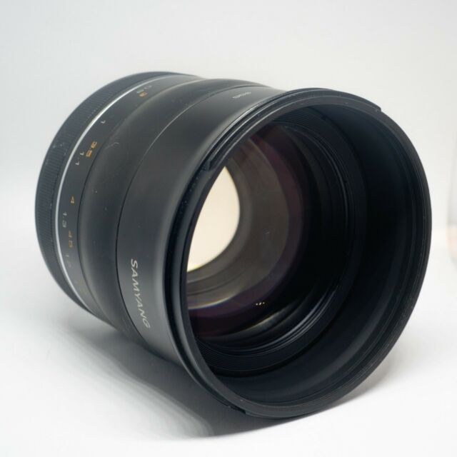 Samyang XP 85 mm OBJECTIF f/1.2 AE pour Canon EF