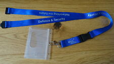 EADS Defence & Security - LOGONAME LANYARD AND PASSHOLDER (Rare)