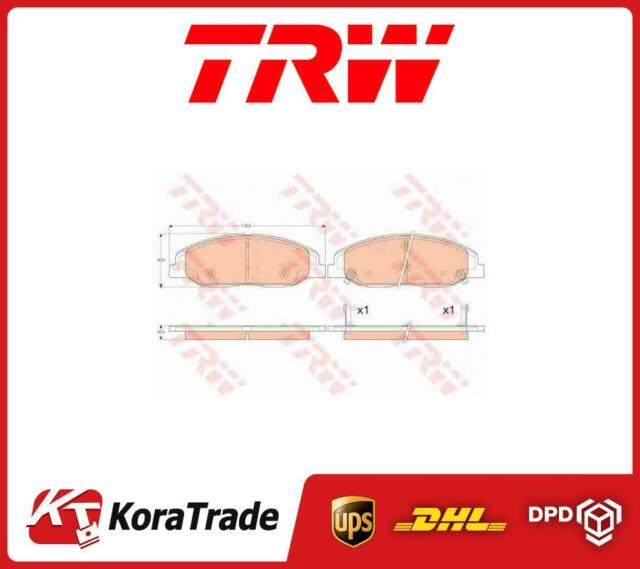 GDB4457 TRW OE QUALLITY DISC BRAKE PADS SET