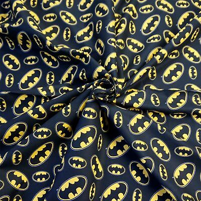 Batman 100/% Cotton Fabric Print
