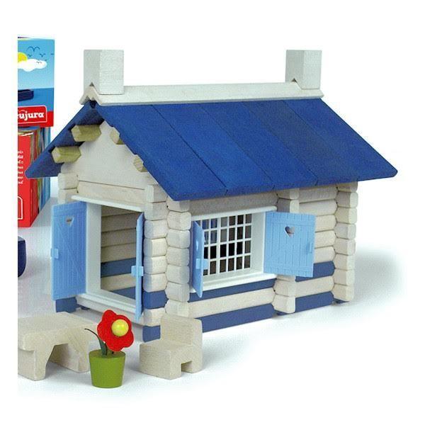 Jeujura Maison en bord de mer jeu construction bois NEUF Building game Bauspiel