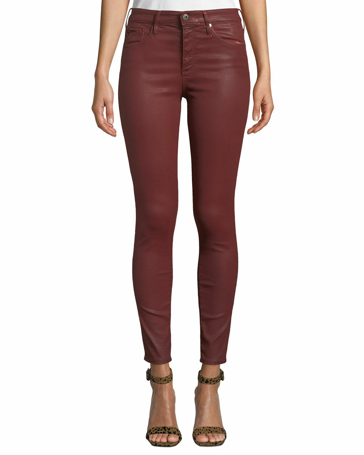 AG The Farrah High-Rise Skinny Ankle Jeans  Sz 24 - NWT Anthropologie