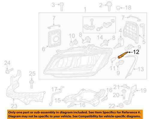 NEW OEM Genuine VW Passat EOS Audi Q5 Bulb Holder Socket Lamp Housing 3C0941953