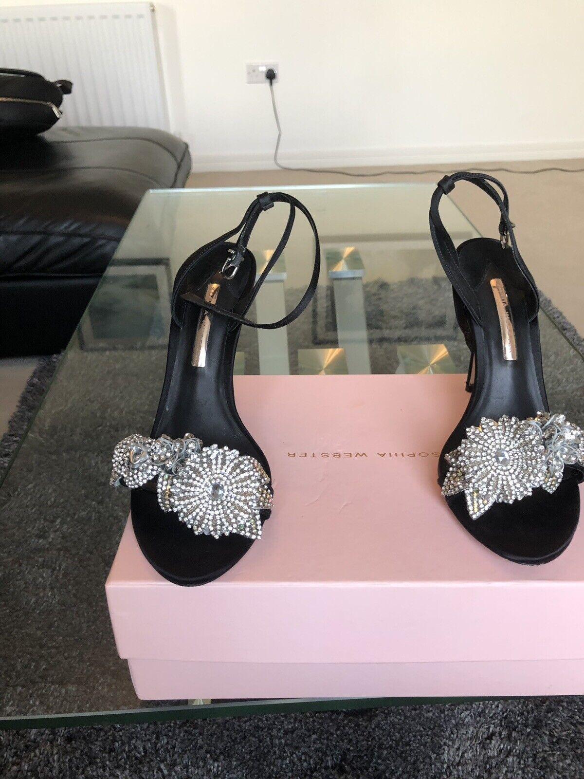 Sophia Webster Embellished Crystal Lilico Sandals shoes