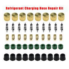 Refrigerant Charging Hose Repair Kit Cap Core Tool Set With 14amp38 Gaskets Hvac