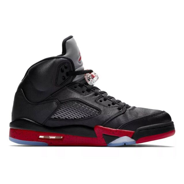 get cheap 42454 4950a Nike Air Jordan 5 Retro Mens Shoes Black/University Red 136027-006 Sz.9.5