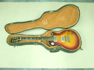 Vintage 1956 Gibson Les Paul Electric Guitar - Sun Burst / Pearl Inlay