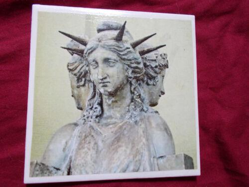 Morrigan  Nix Lilith Dark Goddess Pagan Handmade Ceramic Tiles coaster altar v2