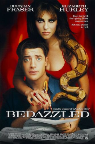BEDAZZLED MOVIE POSTER 1 Sided ORIGINAL 27x40 ELIZABETH HURLEY