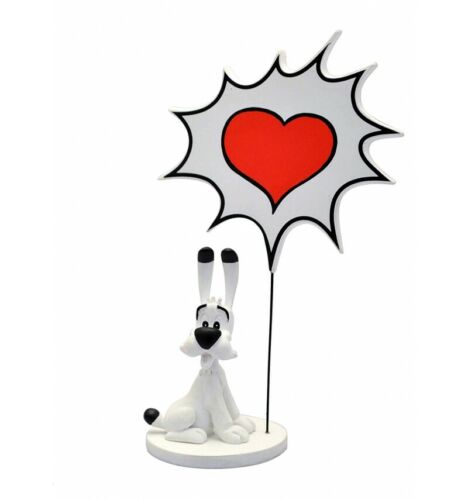 "15cm Asterix statuette Bulles Idefix /""Coeur/"" Collectoys Collection"