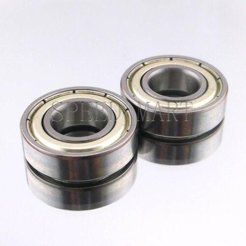 10mm*22mm*6mm 2PCS 6900ZZ Deep Groove Metal Double Shielded Ball Bearing