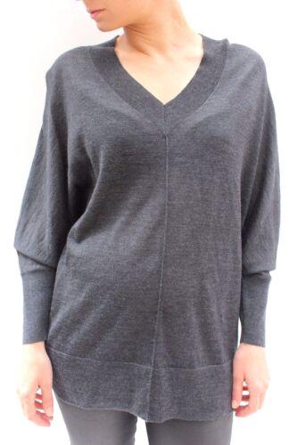 10 Grey Strikket Pullover Jumper Karen 38 Sweater Casual Oversized Millen Tunika Top SO57qv