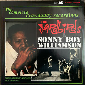 THE YARDBIRDS ~ The Complete Crawdaddy Recordings ~1993 Italian Double Vinyl Set