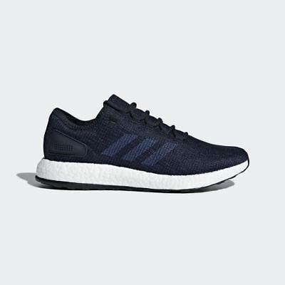 Adidas Pureboost Shoes Men Running Collegiate Navy