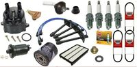 94-95 Toyota Camry Tune-up Kit Cap+rotor+spark Plugs+air+oil+fuel + Belts