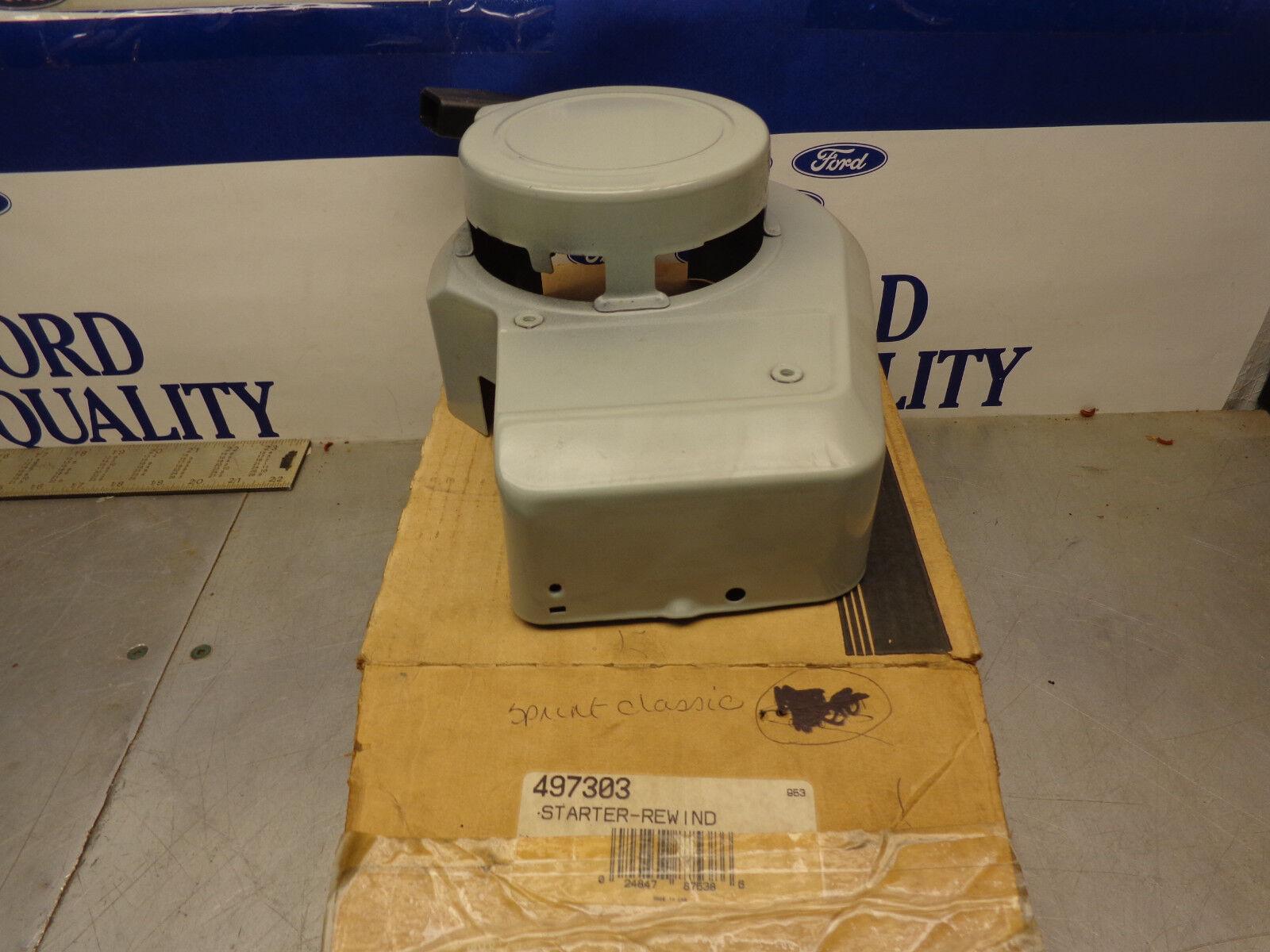 Original Equipment Manufacturer Briggs 497303 Rebobinado retroceso ARRANQUE Caja del soplador Sudario Cover ahora 499915