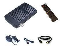 HD Mini Digitaler Satelliten Receiver mit 2x USB + IR Empfangsaug + HDMI Kabel