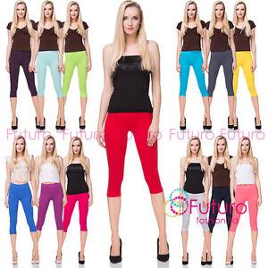 Cotton Yoga Gym Cropped Leggings 3-4 Summer Pants All Colours & Sizes Midl 66-afficher le titre d`origine m3q9TsjT-07142209-952973504