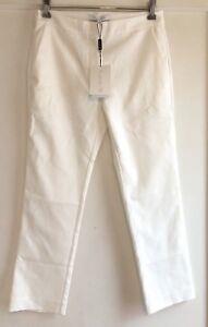 Nwt Bukser Dress Xs Størrelse Hvid lavra Tapered Alexis Bukser Beskåret vgrFvPq