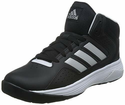 Adidas Neo VS Hoops Mid Cg5710 Pelle Sint Nero Scarpe Uomo