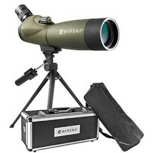 Barska-Blackhawk-Angled-Spotting-Scope-20-60x-60mm-w-Tripod-amp-Case-AD11284