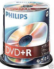 Philips DVD+R 4.7 GB, 16x Speed, Spindel 100 Stück