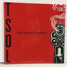 T.S.O.L. - The Trigger Complex LP Record - BRAND NEW - Clear Vinyl + Download
