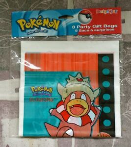 Image Is Loading Pokemon Party Gift Bags 45 Packages 360 Total