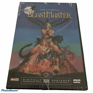 The Beastmaster DVD Don Coscarelli Film Marc Singer Tanya Roberts NEW Sealed
