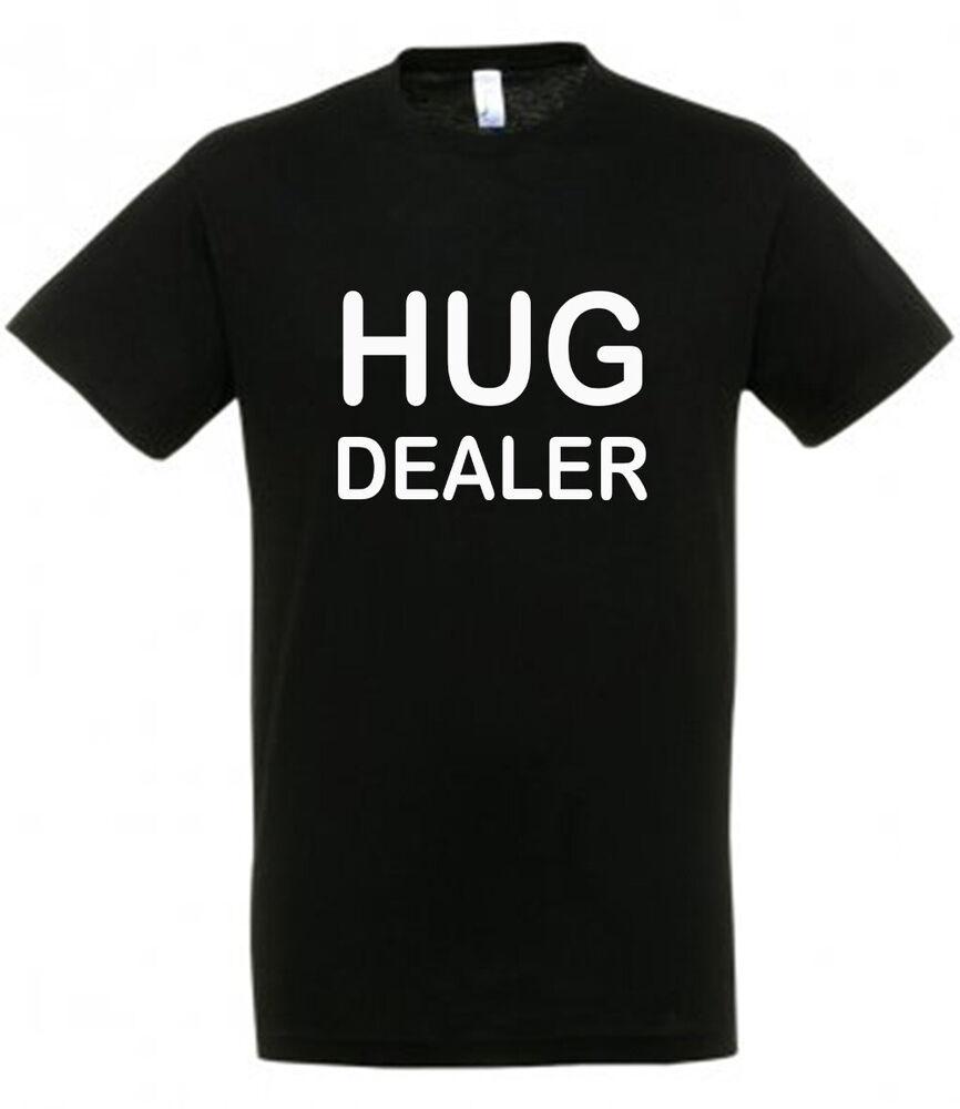 Hug Dealer T Shirt Disponible En Noir Ou Rose Nouveauté