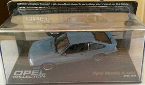 Die-Cast-034-Opel-Monza-A-Gse-1983-1986-034-Opel-Collection-Echelle-1