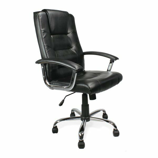 Alphason Managers Executive Chair, Houston, Black, 1110-1210mm x 645mm x 720mm