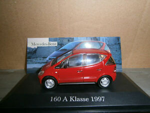 MERCEDES-BENZ-160-A-KLASSE-de-1997-echelle-1-43-Voitures-de-legende