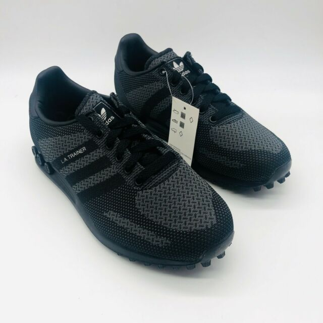 Banquete lago Titicaca Suponer  adidas La Trainer Weave Size 8 Boxed Ee6550 Black Uk8 for sale online | eBay