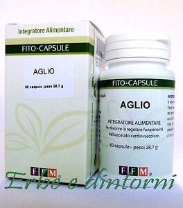 AGLIO ESTRATTO SECCO TITOLATO 60 CAPSULE - Ipertensione..