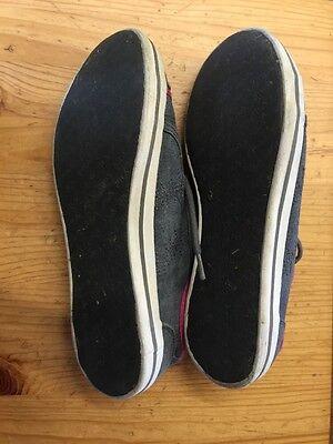 Fila Textil Turnschuhe Schuhe Gr 37 Grau Pink Top Zustand