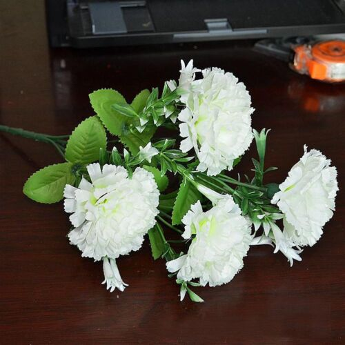 Artificial Dried Fake Rose Silk Flowers Wedding Party Leaf Home Decorations