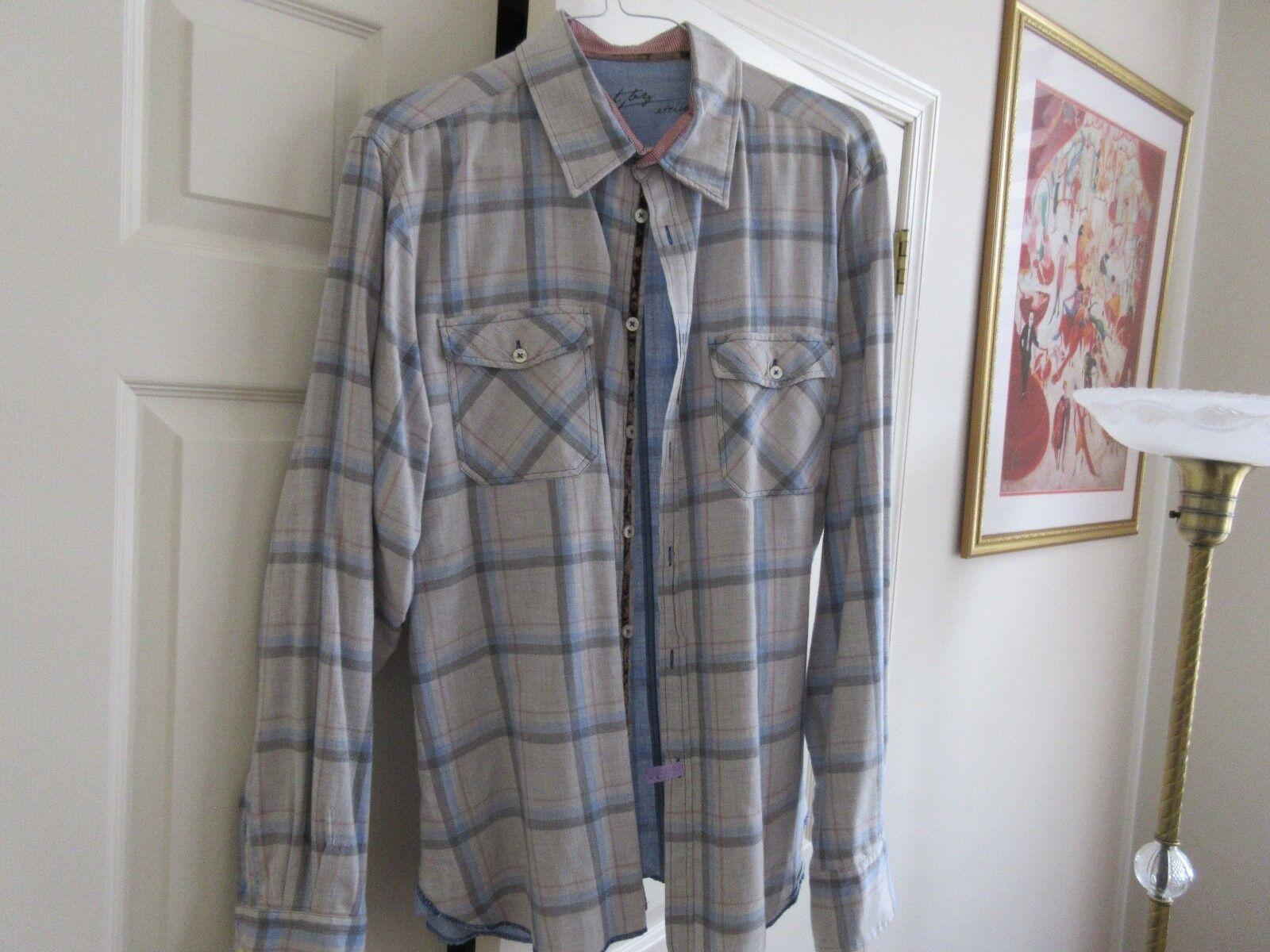 Shirt by Atelier , Size XXL , Men's Long Sleeve Shirt ,