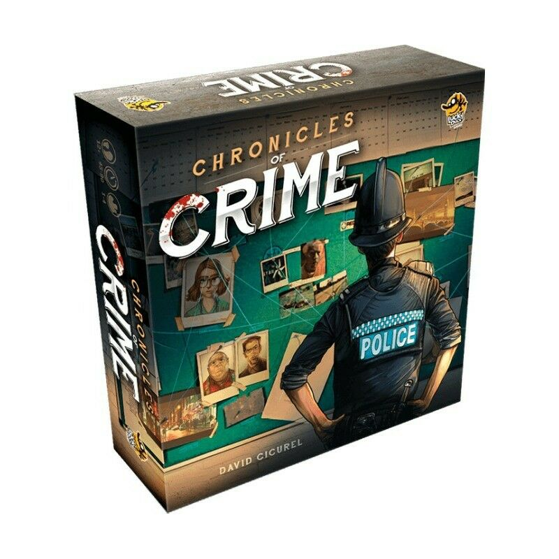 Chronicles of Crime Boardgame - New