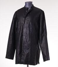 NWT $2345 BALENCIAGA PARIS Lightweight Lambskin Oversize Shirt XL (Fr 42) Jacket