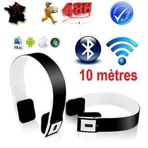 casque audio ecouteur micro bluetooth sans fil pc mac smartphone iphone android ebay