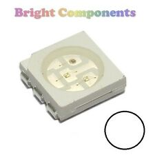 10 x White PLCC-6 LED (SMD SMT 5050) - Ultra Bright - UK - 1st CLASS POST