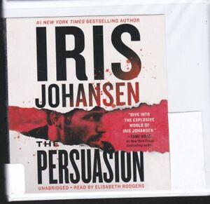 THE PERSUASION by IRIS JOHANSEN ~UNABRIDGED CD AUDIOBOOK