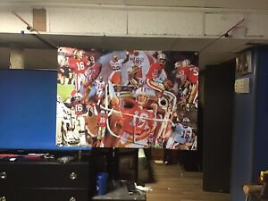 Huge-43x31-JOE-MONTANA-Vinyl-Banner-POSTER-jerry-rice-San-Francisco-49ers-ART