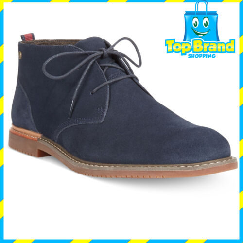 Timberland BOOT BLUE suede LEATHER Chukka Brook Park Mens Boots SHOES RRP $299