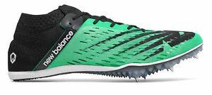New-Balance-Homme-Md800v6-Track-Spike-Chaussures-Vert-avec-Noir