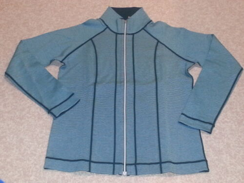 NEW  KIRKLAND SIGNATURE women/'s Full Zip Reversible Jacket M MEDIUM
