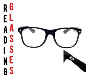 Reading-Glasses-1-50-Unisex-Mens-Ladies-Trendy-Designer-Spring-Geek