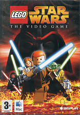 Lego Star Wars, adventure game for Mac G4/G5 OS 10.4 NEW & Sealed